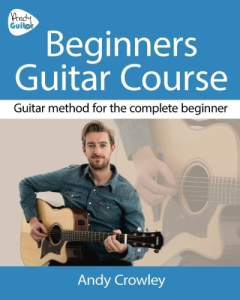 andy guitar beginners course ebook
