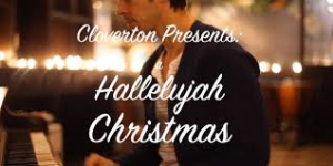 a christmas hallelujah (parody) of the leonard cohen and cloverton version for piano and vocal solo