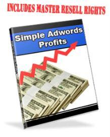 simple adwords profits with master resale rights