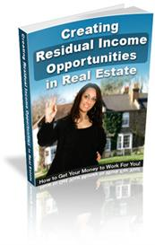 creating residual income opportunities in real estate (mrr)