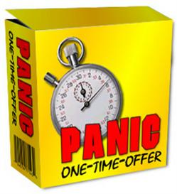 PANIC One-Time-Offer (MRR) | Software | Business | Other