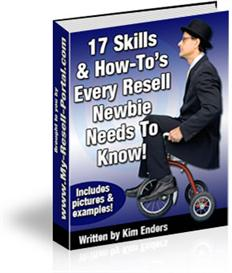 17 Skills Every Resell Newbie Needs To Know (MRR) | eBooks | Business and Money