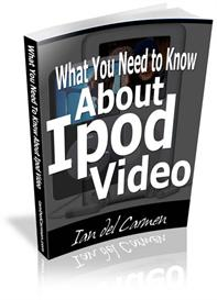 What You Need to Know About Ipod Video -with Master Resale Rights | eBooks | Entertainment