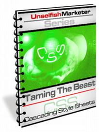 Taming The Beast Cascading Style Sheets -With Master Resale Rights | eBooks | Internet