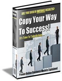 copy your way to success - with master resale rights