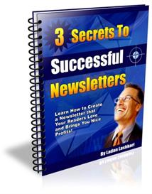 Secrets To Successful Newsletters With Master Resale Rights | eBooks | Business and Money