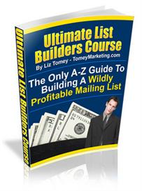 Ultimate List Builders Course - A-Z Guide To Building A Wildly Profita | eBooks | Business and Money