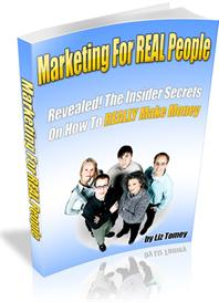 Marketing For Real People With Master Resale Rights | eBooks | Internet