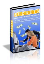 millionaire software tycoon secrets with master resale rights
