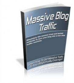 Massive Blog Traffic With Master Resale Rights | eBooks | Internet