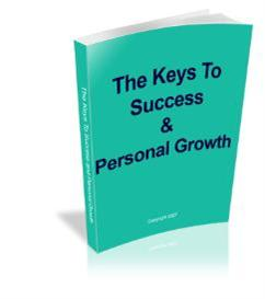 the keys to success & personal growth