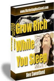 Grow Rich While You Sleep (MRR)   eBooks   Business and Money