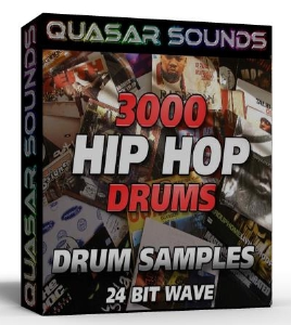 3000 HIP HOP DRUMS 24 Bit WAVE | Music | Soundbanks