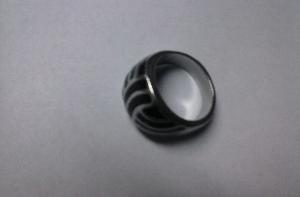 silver diamondlike base ring