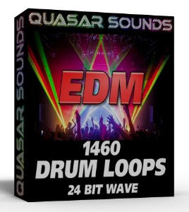 EDM DRUM LOOPS 24 Bit wave | Music | Soundbanks