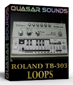 roland tb303 loops  wave