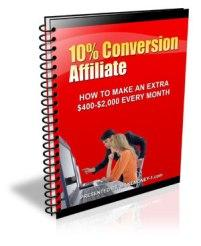 10 Conversion Affiliate With Master Resale Rights | eBooks | Business and Money