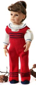 DollKnittingPatterns - 2015 Kerstmis Groetjes - Broek-(Nederlands) | Crafting | Knitting | Baby and Child