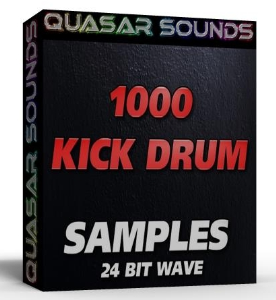 1000 KICK DRUMS  24 Bit wave samples | Music | Soundbanks