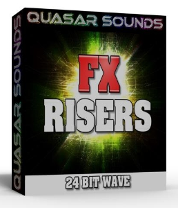 fx risers  24 bit wave samples