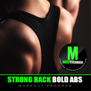 strong back bold abs | workout plan