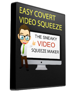 covert video squeeze page creator