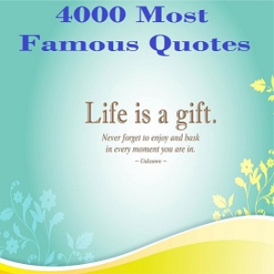 4000 most famous quotes