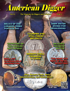 american digger magazine volume 12, issue 1