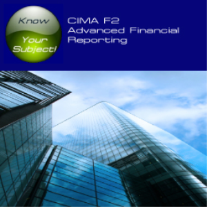 CIMA F2 Advanced Financial Reporting | Software | Training