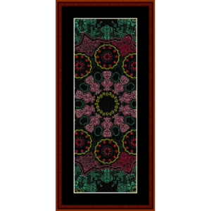 Fractal 535 Bookmark cross stitch pattern by Cross Stitch Collectibles | Crafting | Cross-Stitch | Other