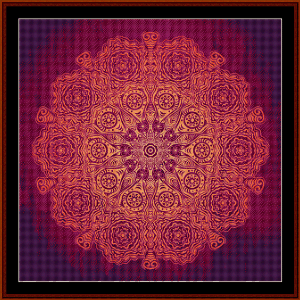 Fractal 536 cross stitch pattern by Cross Stitch Collectibles | Crafting | Cross-Stitch | Wall Hangings
