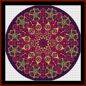 Fractal 539 cross stitch pattern by Cross Stitch Collectibles | Crafting | Cross-Stitch | Wall Hangings