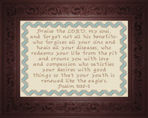 Praise the Lord 2 | Crafting | Cross-Stitch | Religious