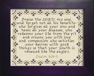 Praise the Lord 3 | Crafting | Cross-Stitch | Religious