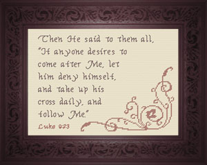Take Up His Cross | Crafting | Cross-Stitch | Other