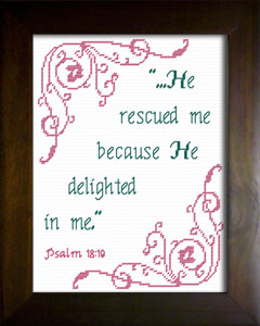He Rescued Me | Crafting | Cross-Stitch | Other