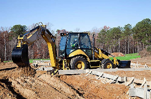 CAT Backhoe in Action | Photos and Images | Technology