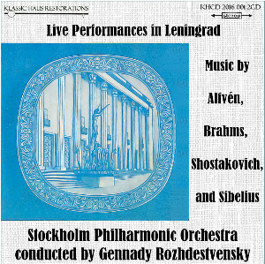 stockholm philharmonic orchestra conducted by gennady rozhdestvensky - live in leningrad 1979
