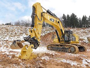 CAT Excavator in Action | Photos and Images | Technology