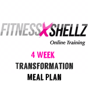 4 Week Transformation Meal Plan | Documents and Forms | Other Forms