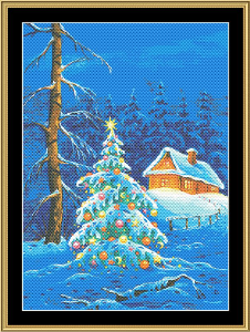 Christmas Tree II | Crafting | Cross-Stitch | Wall Hangings