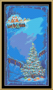 Christmas Tree | Crafting | Cross-Stitch | Wall Hangings