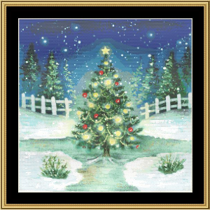 Oh Christmas Tree | Crafting | Cross-Stitch | Wall Hangings