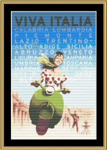Viva Italia | Crafting | Cross-Stitch | Wall Hangings