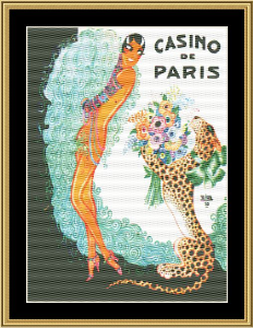 Casino De Paris | Crafting | Cross-Stitch | Wall Hangings