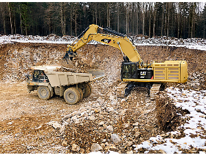 Caterpillar Excavator in Action | Photos and Images | Technology