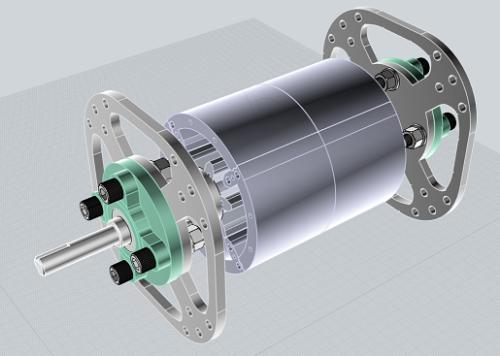 First Additional product image for - TeslaGen v1 Mini QEG CAD Files