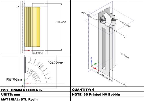 Second Additional product image for - TeslaGen v1 Mini QEG CAD Files
