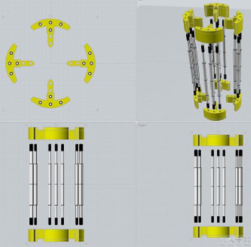 Third Additional product image for - TeslaGen v1 Mini QEG CAD Files