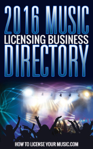 2016 Music Licensing Business Directory | eBooks | Music